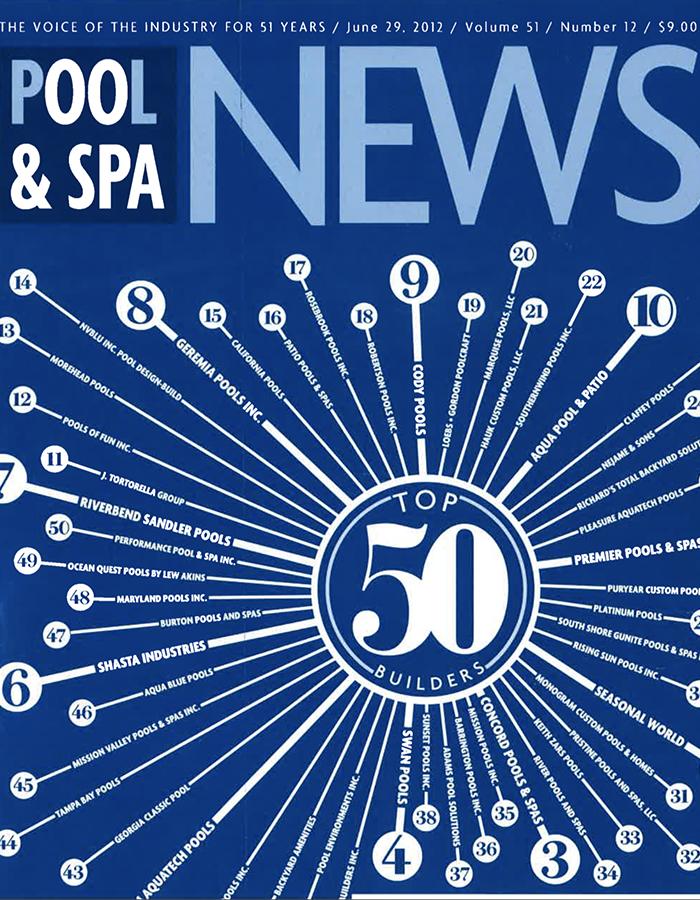 POOL & SPA NEWS 2012